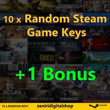 10 x Random Steam Game Keys + 1 Bonus ✅REGION FREE