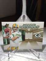 AARON RODGERS 2006 SPX Materials Jersey 2nd Year Packers  MVP PSA   Possible