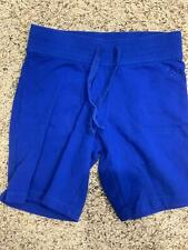 """A*"" JUSTICE  soft blue shorts youth size 8"