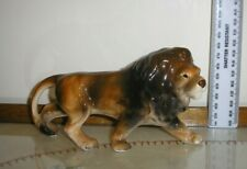 Collectable Figurine of  Lion .  Signed FOREIGN