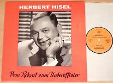 HERBERT HISEL - Vom Rekrut zum Unteroffizier  (TEMPO 1973 / LP NEUWERTIG)
