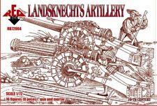 Red Box 1/72 Landsknechts Artillerie 16 Century #72064