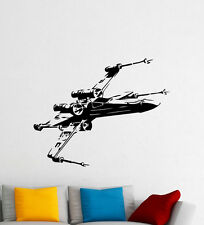 X-Wing Fighter Wall Decal Star Wars Spaceship Vinyl Sticker Art Decor Mural 79m