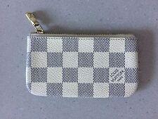 Louis Vuitton Key Pouch Damier Azur