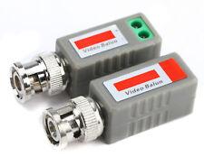 2 Stk Video Balun UTP202A Überwachungskamera passiv Cat5/5E/6/7 lan Kabel zu BNC