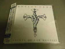 MOTLEY CRUE Japan SHM-CD + DVD with OBI, SAINTS OF LOS ANGELES +2