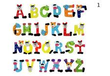 26 Pcs Wooden Alphabet Fridge Magnets Baby Early Childhood Toys For Children~~