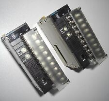 Omron CJ1W-AD081-V1 A/D unit (lot of 2)