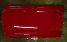96-99 Saturn S Series SL SW Driver Left Front Door Panel Bright Red WA9652