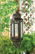 VICTORIAN HANGING CABLE CANDLE LANTERN DECOR~10015424