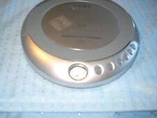 COBY Anti-Skip Protection Digital CD Player 1 bit DAC Silver Mod CX-CD329