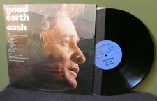 "Johnny Cash ""Good Earth"" LP VG+ Promo Only Very Rare June Carter Willie Nelson"