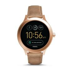 Fossil Q Gen 3 Venture Rose Gold Sand Leather Touchscreen Smart Watch FTW6005