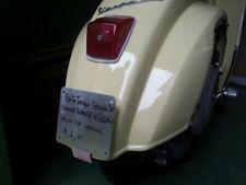 Portatarga Vespa 50 SENZA FORARE TELAIO,R L N special 125 et3 primavera_motore__