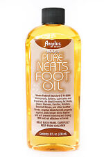 Angelus Pure Neats Foot Neatsfoot Oil Liquid  Waterproof 8 oz