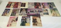 lot of 16 BARBIE ad pages from the 1990's