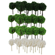 200Pcs Plastic Model Tree Z 1/300 Layout for Diorama Architecture Decoration