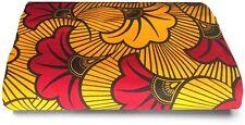 African Fabric GUARANTEED WAX PRINT 100% cotton, 1 yard, quilting material