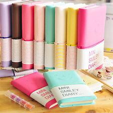 """4Pcs Four Colors """"Mini Smiley"""" Cute Mini Diary Pocket Notebook Tiny Journal Memo"""