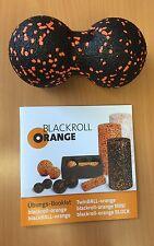 Blackroll orange TwinBALL-orange 8 cm Blackroll Doppelball