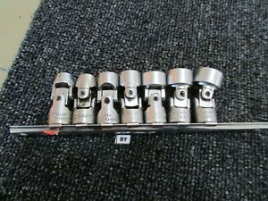 "Vintage Craftsman Swivel Socket Set 3/8"" - 3/4"" USA Mechanic Tool -V- Universal"
