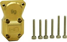 Hot Racing SXTF12CH Brass Diff / Differential Cover Axial SCX24 Deadbolt
