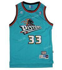 Detroit Pistons Grant Hill #33 Swingman Classics Jersey Teal
