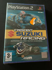 Crescent Suzuki Racing PS2 Play Station 2 Pal ESPAÑOL NUEVO PRECINTADO