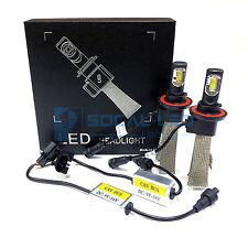 Fanless LED Headlight Kit H13 6000K Xenon White Canbus Conversion Hi/Lo H/L Bulb