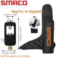 SMACO Portable Bag For 1L Diving Air Tank Scuba Cylinder Oxygen Tank Regulator