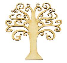 Tree 150mm  D2H Family tree wooden Laser cut  MDF