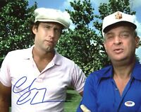 Chevy Chase Authentic Signed 11X14 Caddyshack Photo w/ Dangerfield PSA/DNA