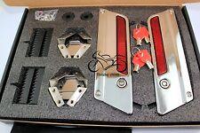 Saddlebag lids Hardware Latch Hinge Lid Lock Kit fit Harley Touring Saddlebags