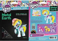 My Little Pony Rainbow Dash Figure Metal Earth 3D Laser Cut Steel Model Kit NEW