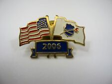 Collectible Pin: American Flag Fallen Police Officers Flag 2006