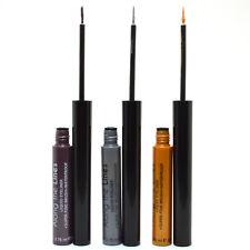 Kleancolor 3 Eyeliner Mauve Silver Gold Liquid fine Brush Waterproof 3LELINER09