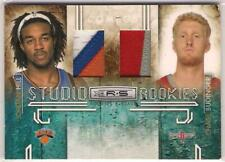 2009-10 Rookies and Stars Studio Combo Rookies Materials Prime #2 Chase Budinger
