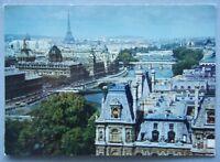 Paris Perspective des Sept ponts Postcard (P221)
