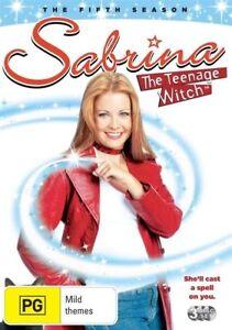 Sabrina the Teenage Witch Season 5 DVD 2009 3 Disc Set Brand New & Sealed