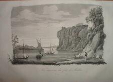 098 POLOGNE Engraving 1837 - Les environs du Fort de MODLIN