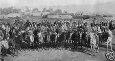 "Kurdish Cavalry Ottomans Turkish Caucasus Mountains World War 1, 7x4"" Photo 1"