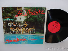 LOS DUENDES Sundays LP Latin Tex-Mex Tejano Private Pressing Signed