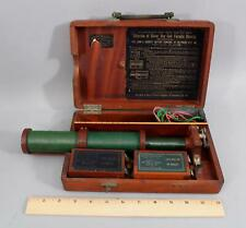 Antique 19thV John Barret Electro-Therapy Quack Medicine Machine Faradic Battery