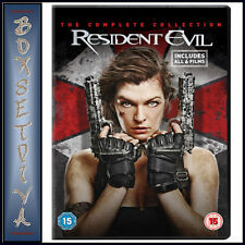 RESIDENT EVIL - THE COMPLETE COLLECTION - 6 FILMS    *** BRAND NEW DVD BOXSET***