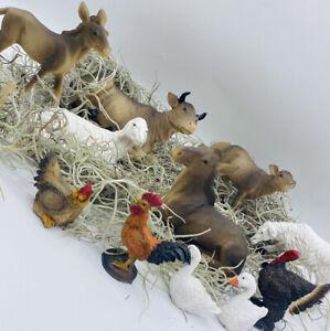 Animal Figurines Nativity Scene Set/11 Animales para Pesebre Nacimiento Nav