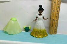 Disney Princess the frog tiana Polly Pocket doll Magiclip dress