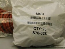 """25 MSC S70-328 WorkSmart #328 1 7/8"""" I.D. x 2 /14"""" O.D. Silicone O-Rings 1/8""""T"""