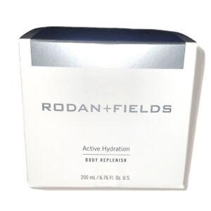Rodan + and Fields Active Hydration Body Replenish 200 ml  / 6.76 oz New in box