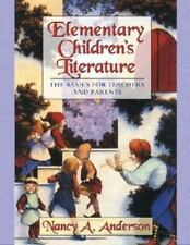 Elementary Children's Literature:Basics for Teachers and Parents-Free Shipping