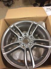"BMW Genuine Alloy Wheel 18"" M Double-Spoke 261 Front Grey 1 Series 36117842607"